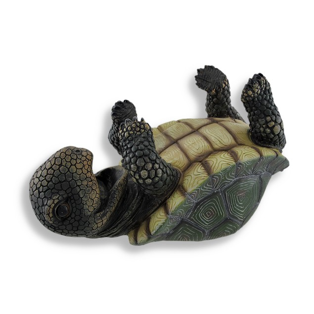 Slow But Steady Turtle Single Wine Bottle Holder Tabletop Wine Racks