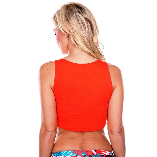 White Mark Universal Textured Crop Top - Available in 4 Colors