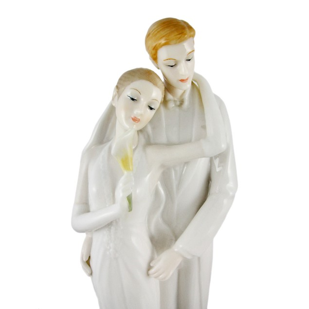 To Have And Hold Fine Porcelain Wedding Couple Statues