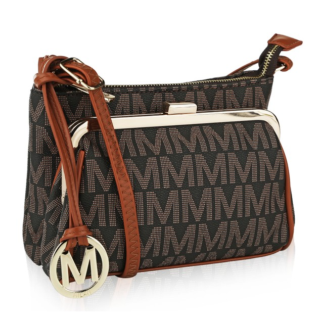 Mia K. Farrow Collection Caylee Signature Cross-body shoulder bag