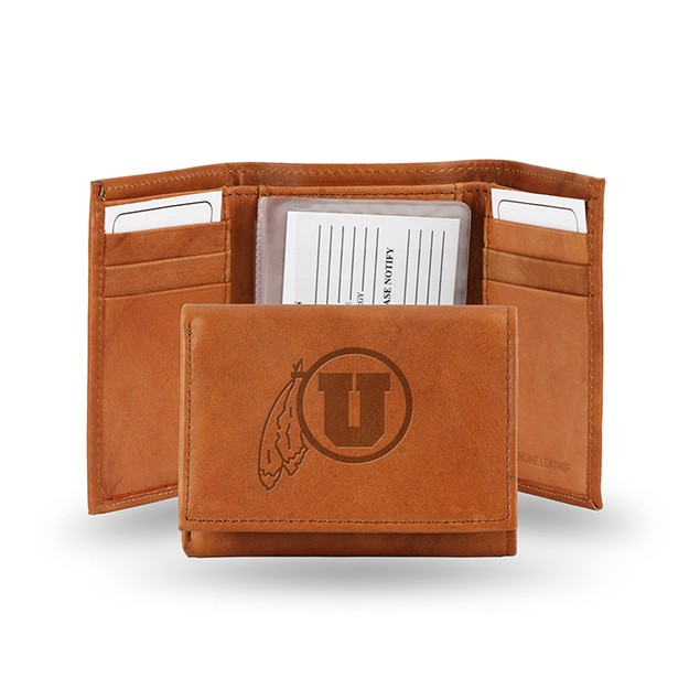 Utah Leather Manmade Trifold