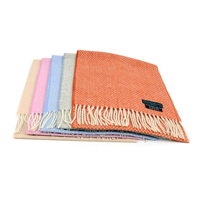 4-Pack 100% Wool Scarf - Assorted