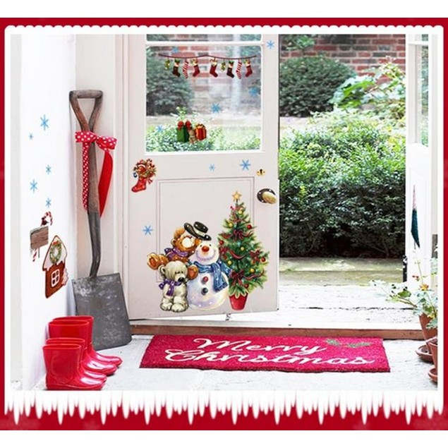 Christmas Tree Xmas Gift Removable Wall Sticker Decal