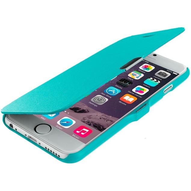 Apple iPhone 6 (4.7) Slim Wallet Magnetic Flip Case Cover