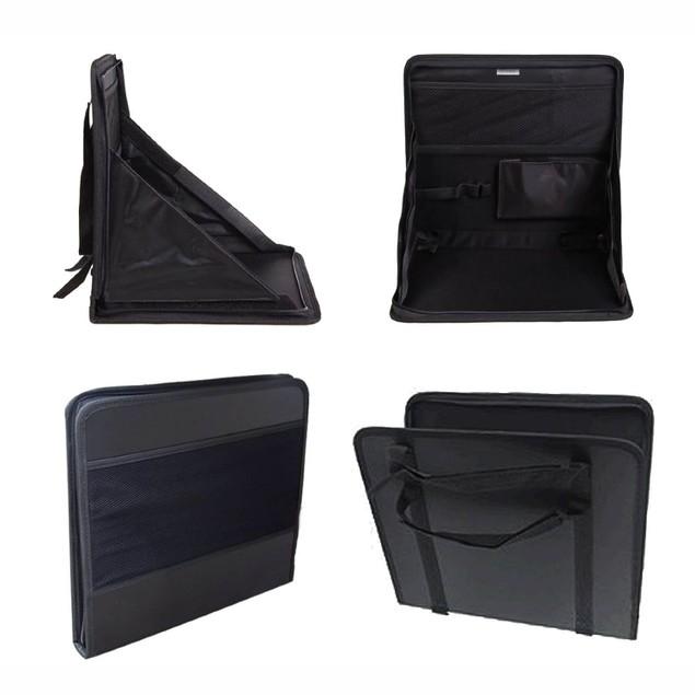 Zone Tech Foldable Automotive Back of Seat Laptop Holder
