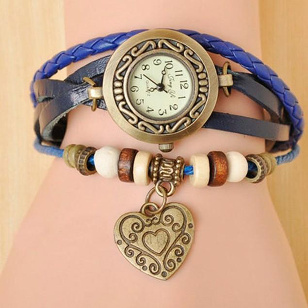 Women's Boho-Chic Vintage-Inspired Fashion Watch