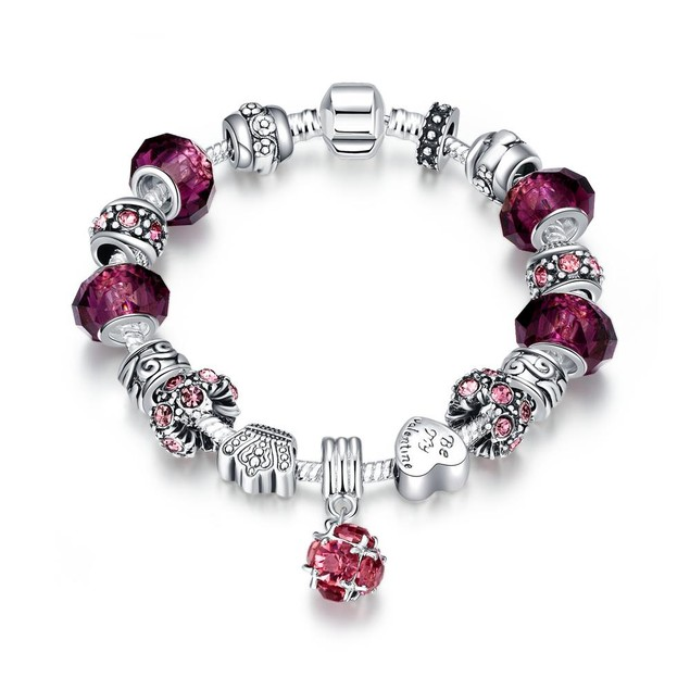 50 Shades of Ruby Red Designer Inspired Bracelet