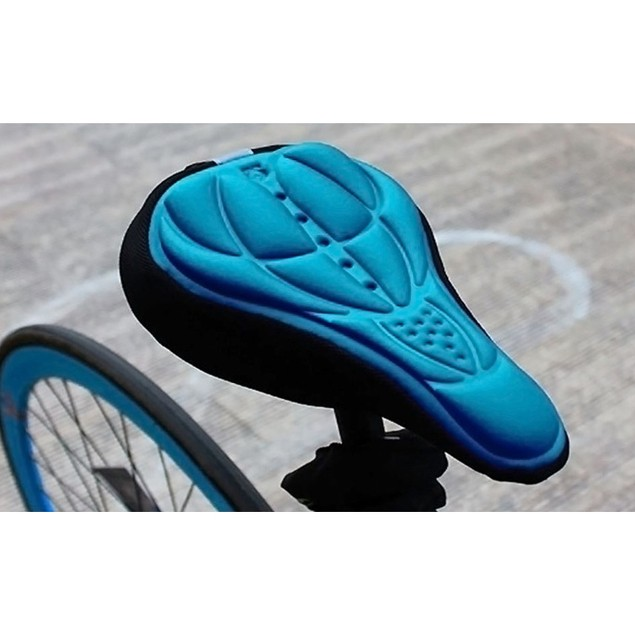 2 Pack: 3D Neoprene Silicone Gel Bike Seat Cover