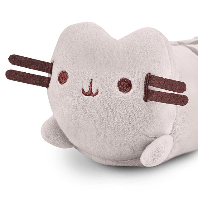Cute and Adorable Plush Cat Pencil & Pen Case School Accessory 8.5''