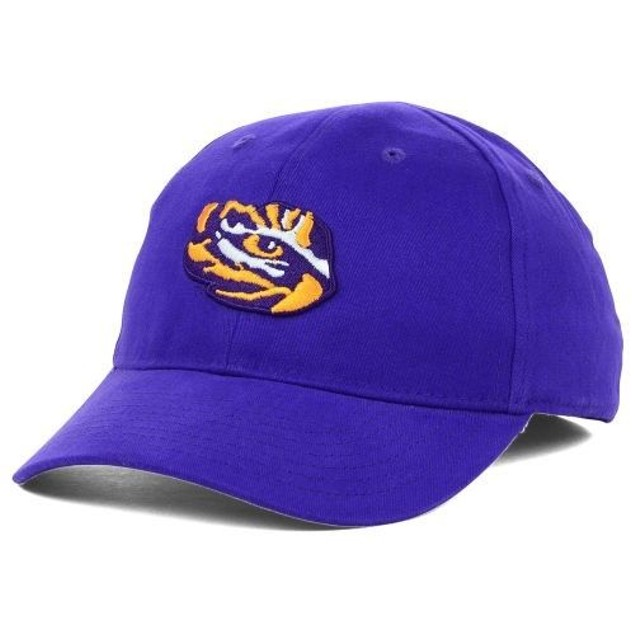 "LSU Tigers NCAA Nike ""Logo"" Swoosh Flex Fitted Dri Fit Hat"