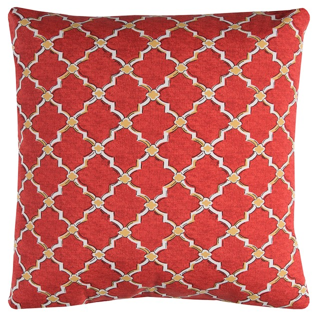 """Rizzy Home Tfv083 22"""" X 22""""  Indoor/ Outdoor Throw Pillows"""