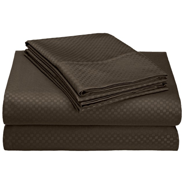 4-Piece Ultra-Soft Wrinkle Free Embossed Sheet Set