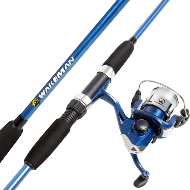 Wakeman Swarm Series Spinning Rod and Reel Combo