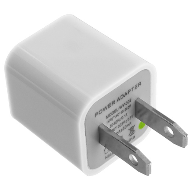 2-Pack USB Wall Charger Cube
