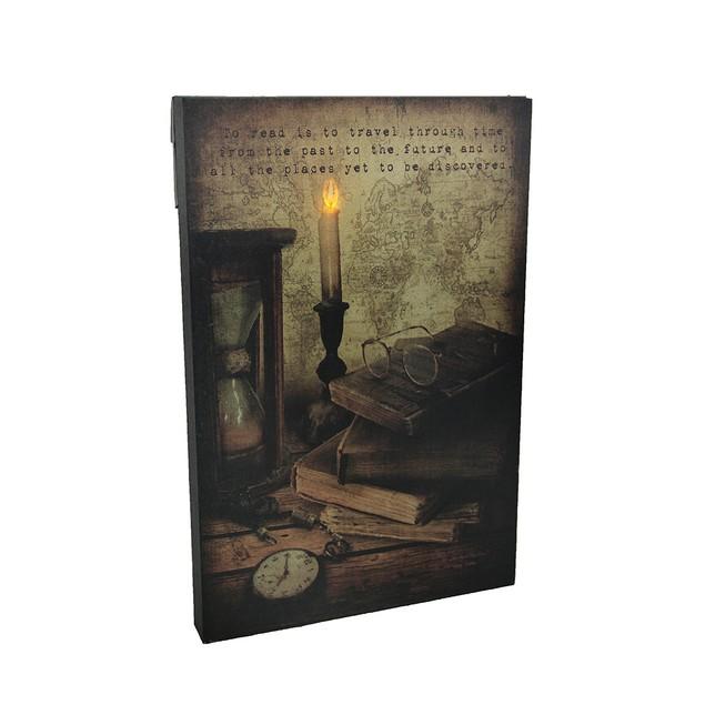 The Gateway Led Lighted Reading Corner Decorative Prints