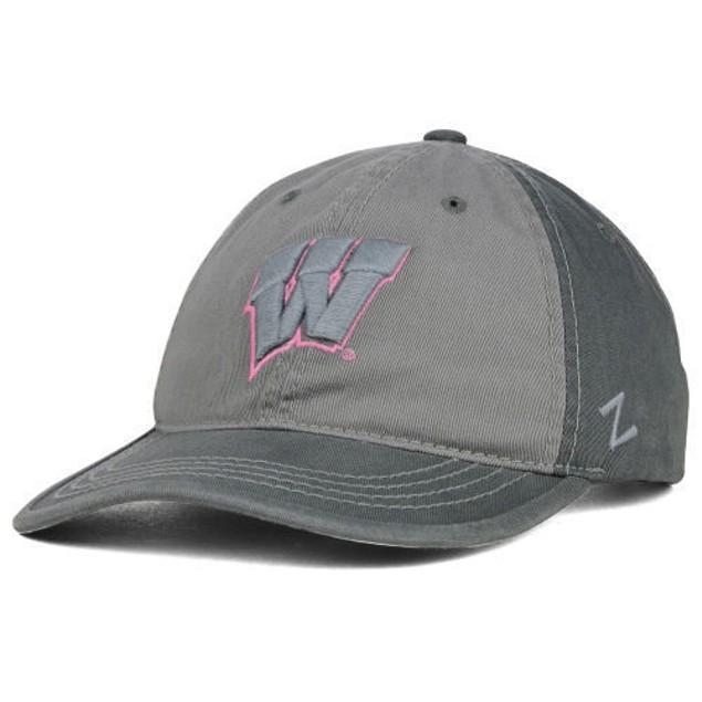 """Wisconsin Badgers NCAA Zephyr """"Gray Duo"""" Adjustable Hat"""