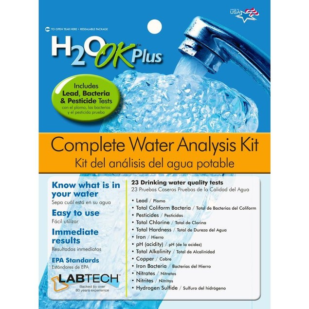 H2 OK Plus Complete Water Analysis Kit