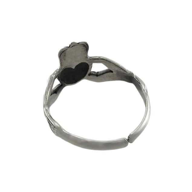 Sterling Silver Irish Claddagh Toe Ring Toe Rings