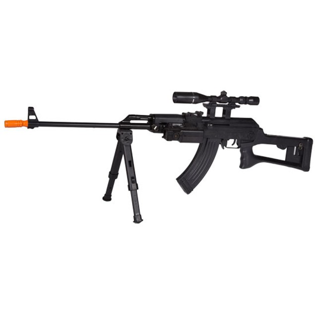 Tactical AK-47 FPS-275 Spring Airsoft Rifle