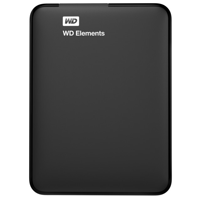 WD Elements SE 2TB USB 3.0 - Black