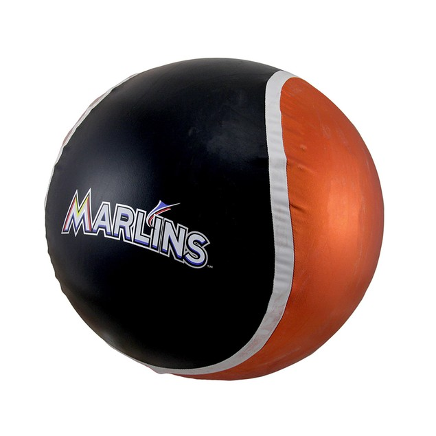 14 Inch Diameter Yall Ball Miami Marlins Toy Balls