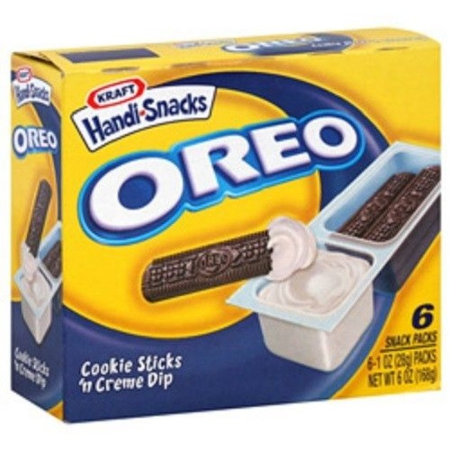 Kraft Handi-Snacks Oreo Cookie Sticks 'n Cream