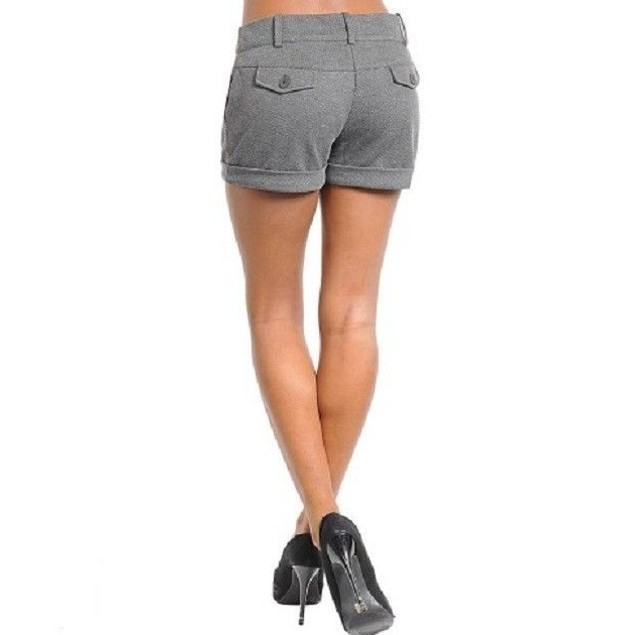 GRAY SHORTS NEW AVAILABLE IN S,M,L