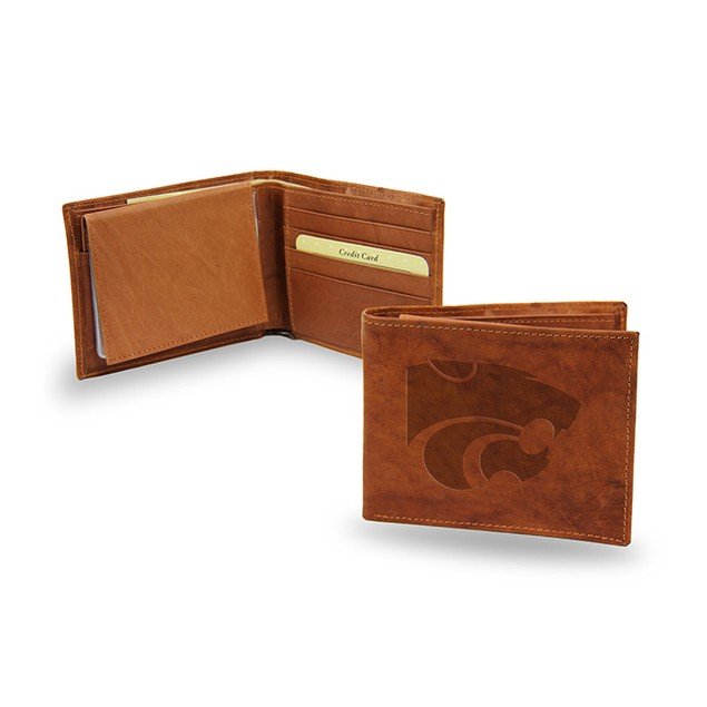Kansas State Leather Manmade Bifold