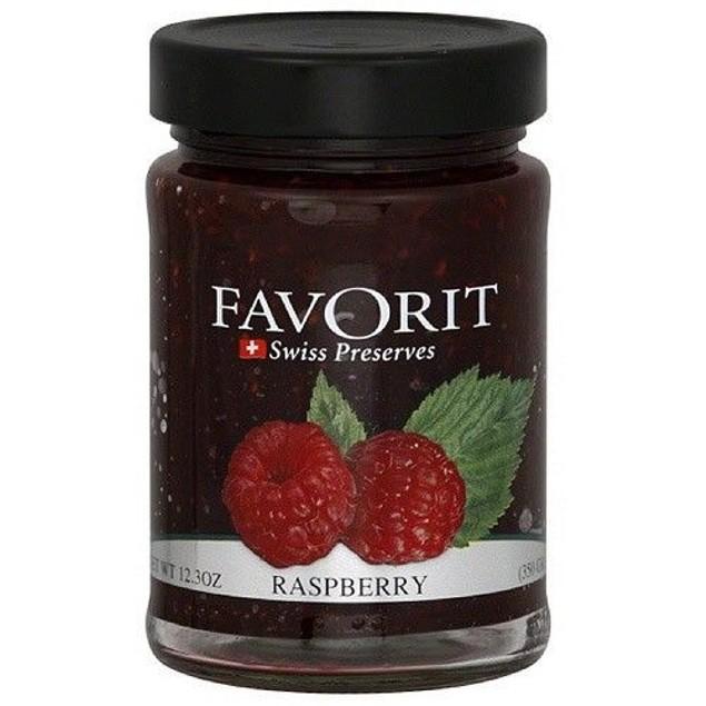 Favorit Raspberry Swiss Preserves 12.3 oz