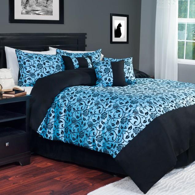 Lavish Home 7 Piece Comforter Set