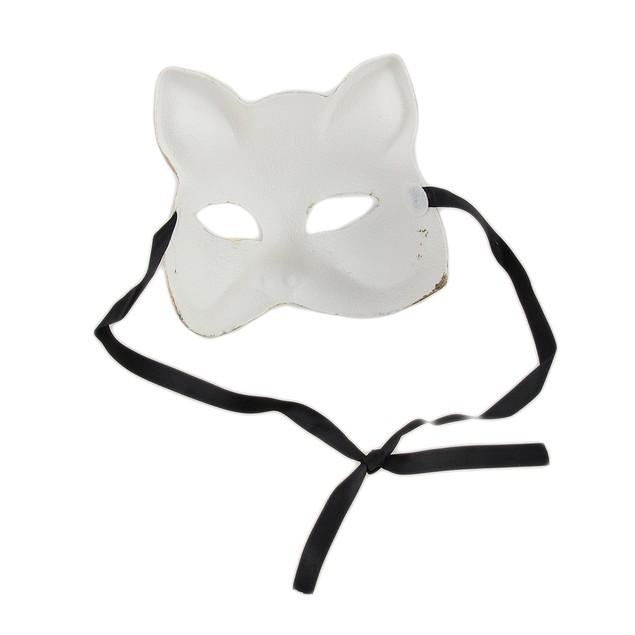 Gold And Silver Finish Half Face Carnivale Gatto Womens Costume Masks