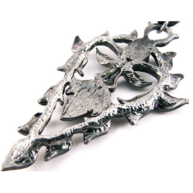 `The Green Man` Pewter Pendant / Necklace Forest Mens Pendant Necklaces