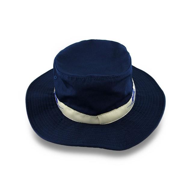 Guy Harvey Navy Blue Booney Hat Tan Sailfish Band Mens Sun Hats