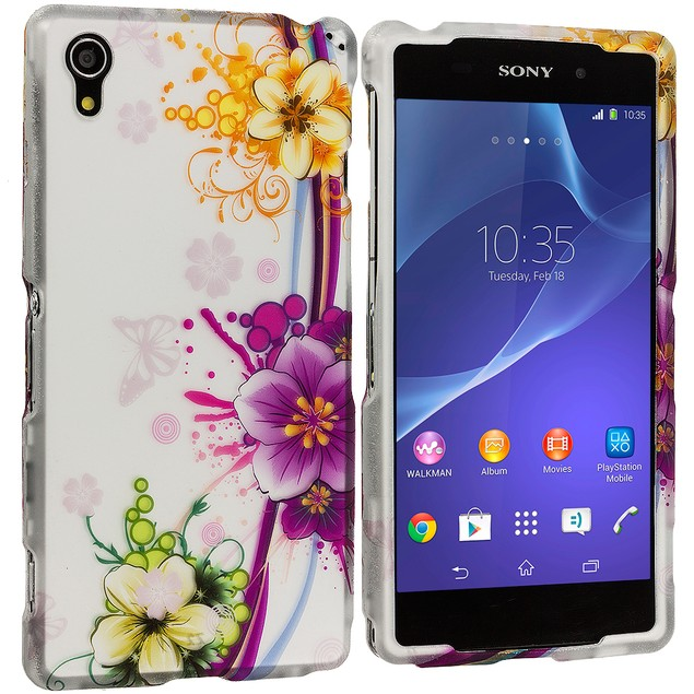 Sony Xperia Z2 Hard Rubberized Design Case Cover