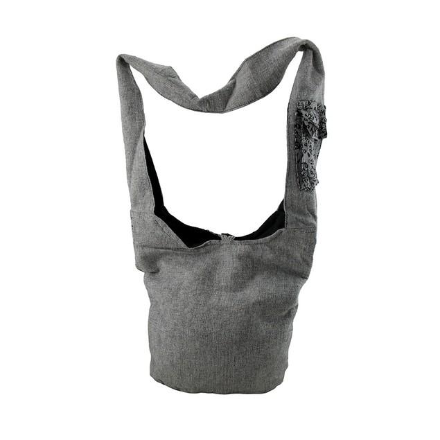 Floral Elephant Print Cotton Cross Body Bag Womens Cross Body Bags