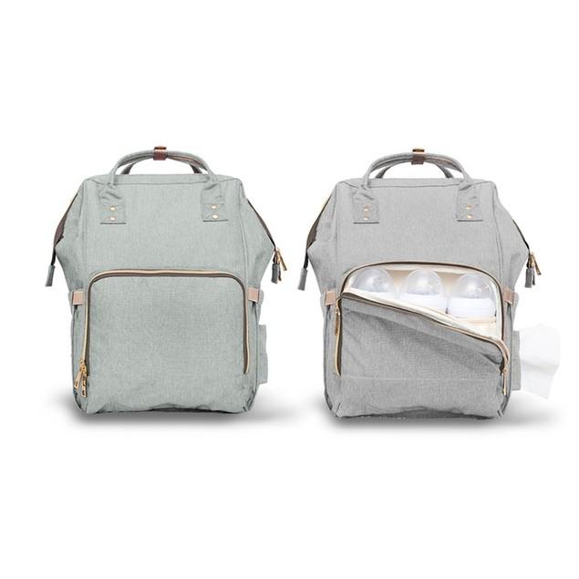 Backpack Style Diaper Bag w/ Free Kids Earrings