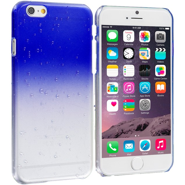 Apple iPhone 6 (4.7) Hard Crystal Raindrop Case Cover