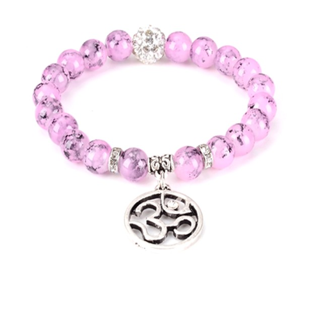 Infinite Ohm Bead Bracelet