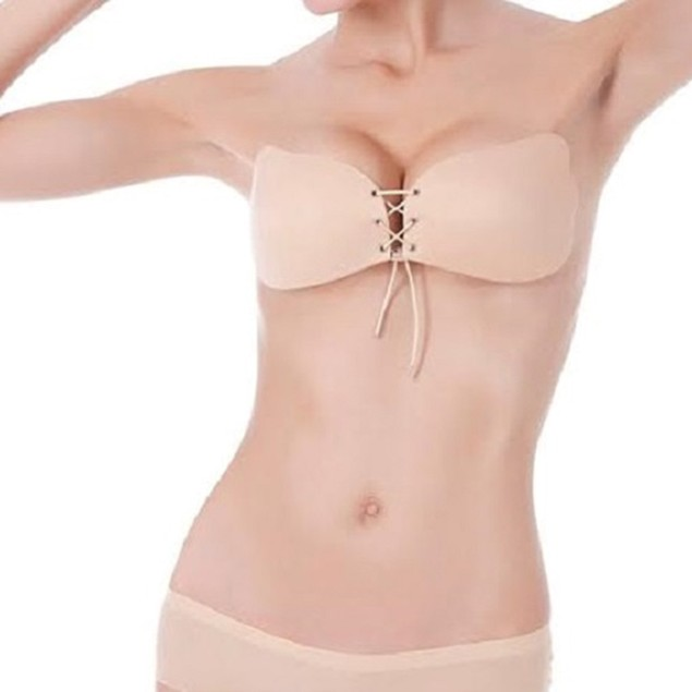 Tie Push Up Bra