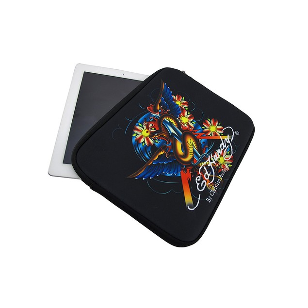 Ed Hardy Snake And Dagger Neoprene Tablet Sleeve Touch Screen Tablet