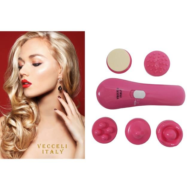 5-in-1 Facial & Body Brush Massager