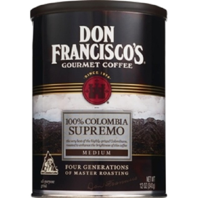 Don Francisco's Gourmet Coffee 100% Colombia Supremo
