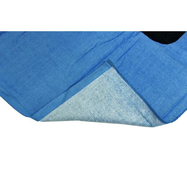 Bright Blue Quiksilver Cotton Velour Beach Towel Beach Towels