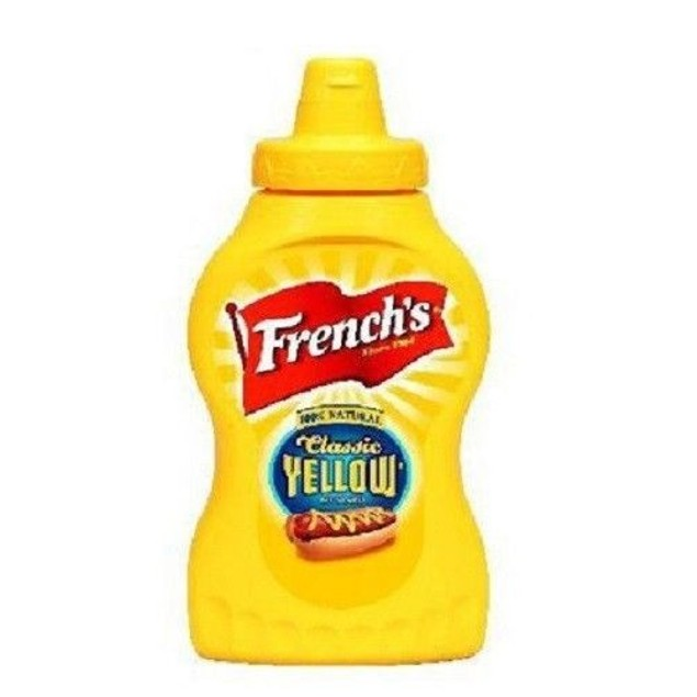 FRENCH'S ORIGINAL YELLOW MUSTARD 8 OZ BOTTLE