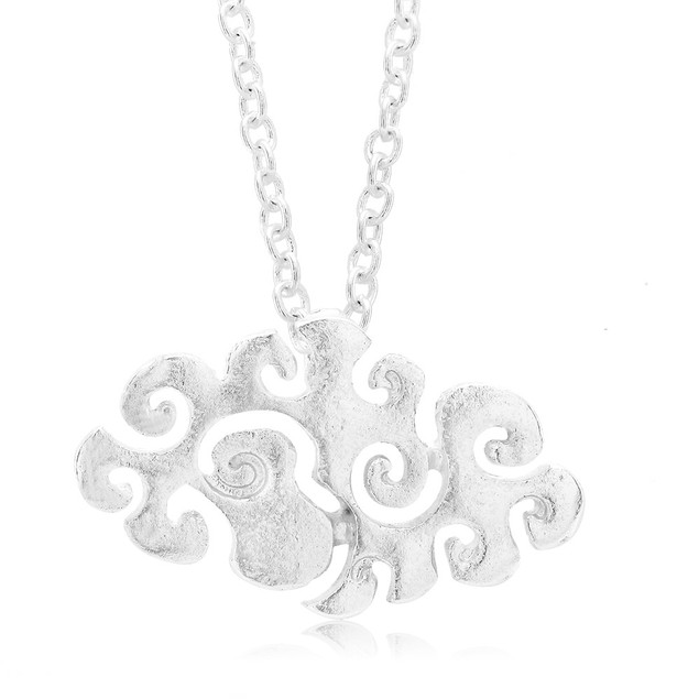 Puffy Cloud Necklace