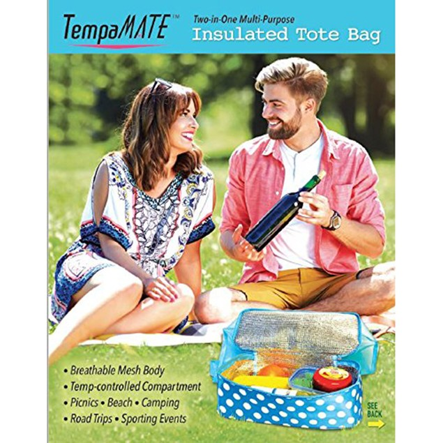 TempaMATE® 2 in 1 Insulated Tote Bag