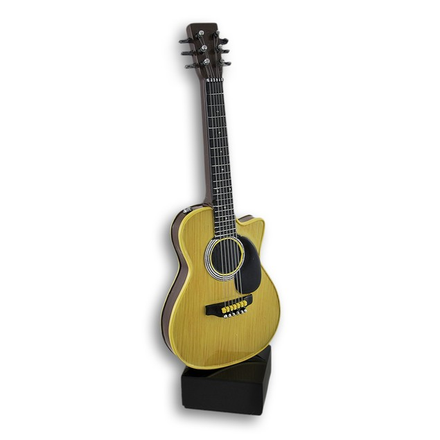Smooth Classic Acoustic Guitar Statue Statues