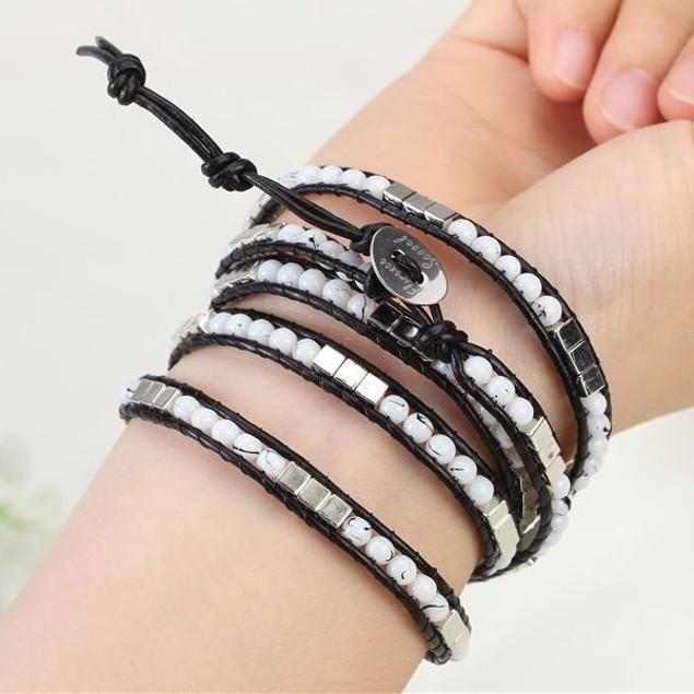 Milky Way Wrap Bracelet