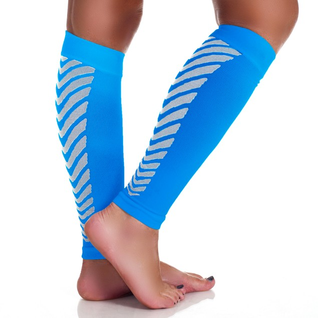 1 Pair: Unisex Remedy Calf Compression Running Sleeve Socks