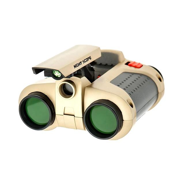 Night Vision 4x30 Scope Binoculars with LED Light Kids Toy